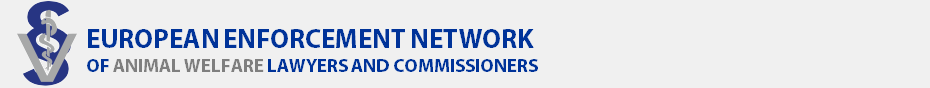 EU Enforcement Network for Animal Welfare Lawyers and Commissioners